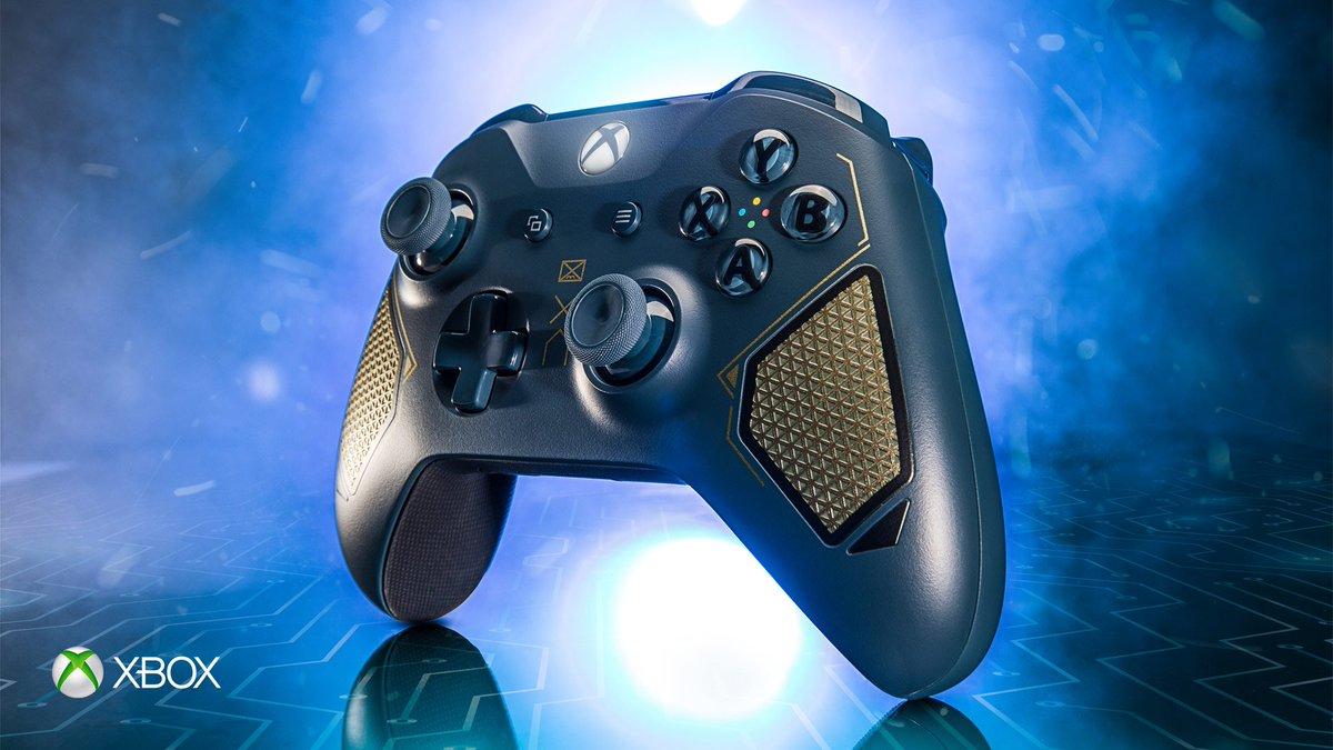 official xbox wireless controller - patrol tech special edition (xbox one)