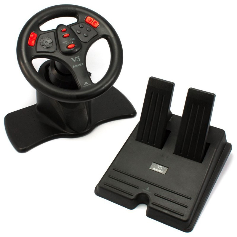 ps2-lenkrad-racing-steering-wheel-mit-pedale-schwarz-v3-rote-buttons-interact