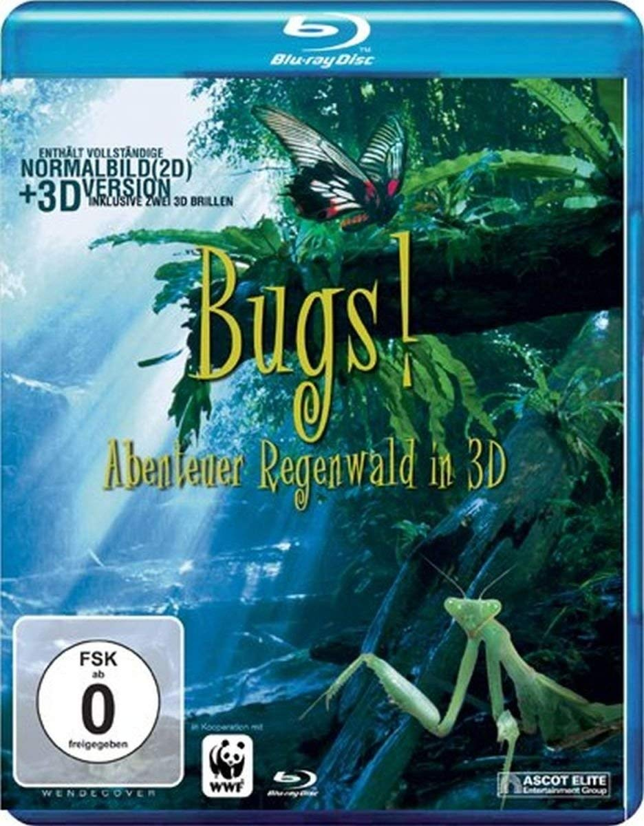 Blu-Ray Film Bugs! 3D