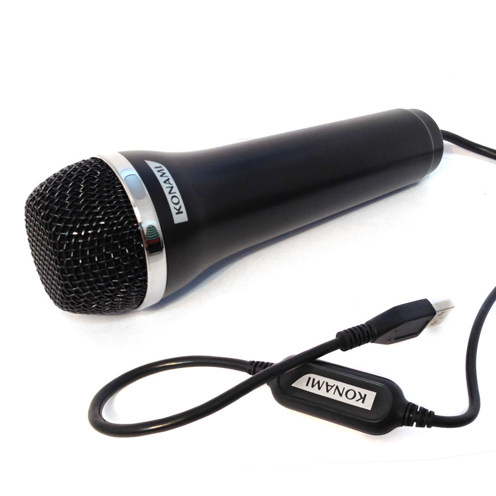 [PS2|PS3|Xbox 360|Wii|PC] USB Mikrofon Konami