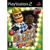 PS2 Buzz! - Športové Kvíz (hra + drôtové ovládača)