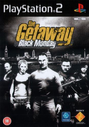 PS2 The Getaway Black Monday