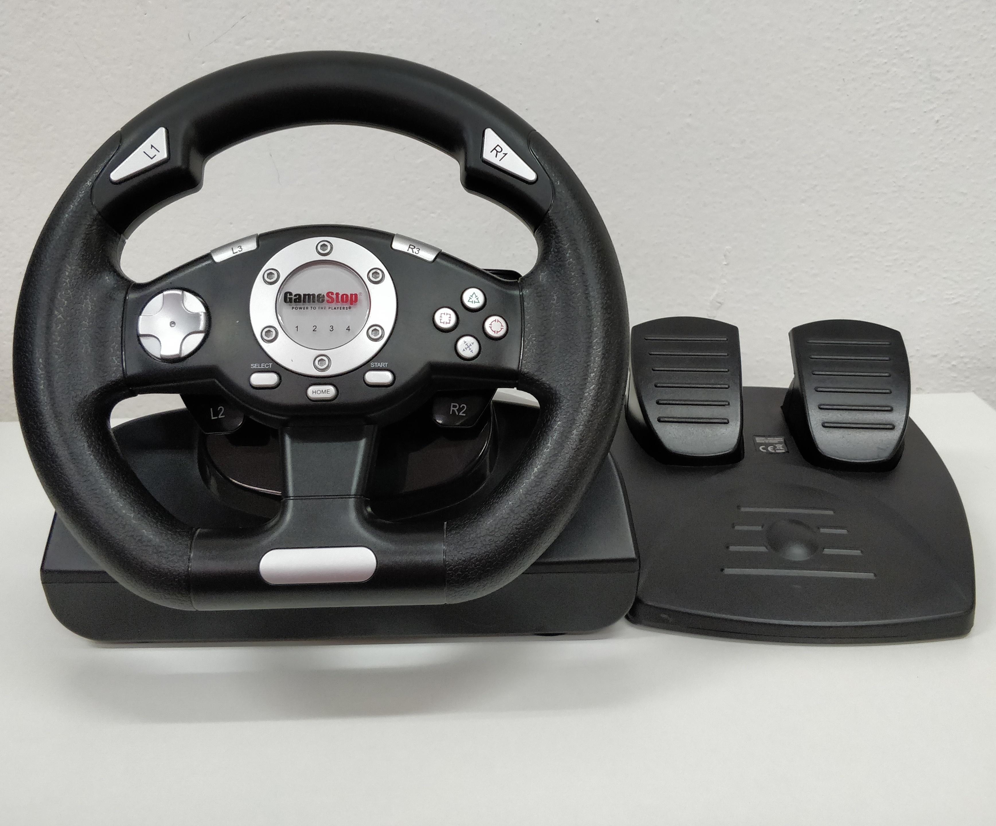 [PS3] Gamestop Racing Wheel - (estetické vady)