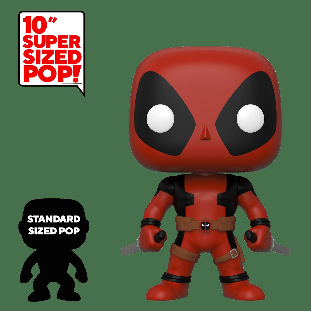 Funko POP! Marvel: Deadpool - Deadpool: Two Swords - 10 inch (nová)