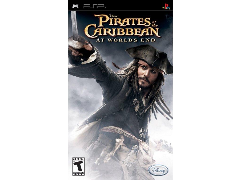 PSP Piráti z Karibiku: Na kraji světa - Pirates of the Caribbean: At Worlds End