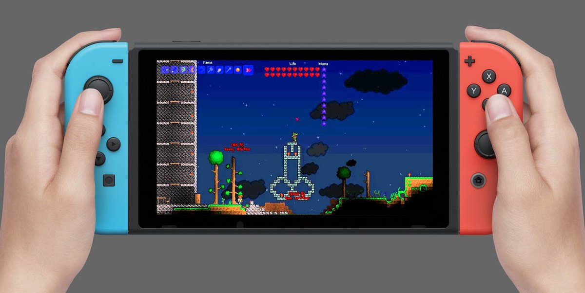 Nintendo Switch Terraria (nová)