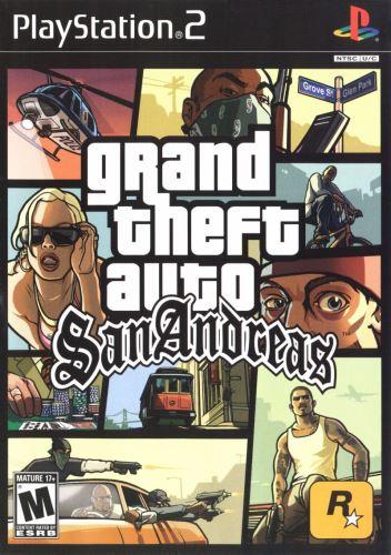 PS2 GTA San Andreas Grand Theft Auto