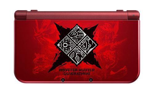 New Nintendo 3DS XL - Monster Hunter Generations Edition