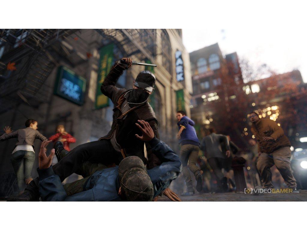 Xbox 360 Watch Dogs - (CZ)