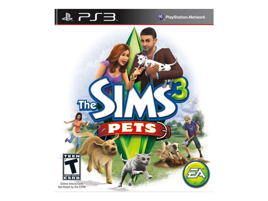 PS3 The Sims 3 Pets - Domácí mazlíčci