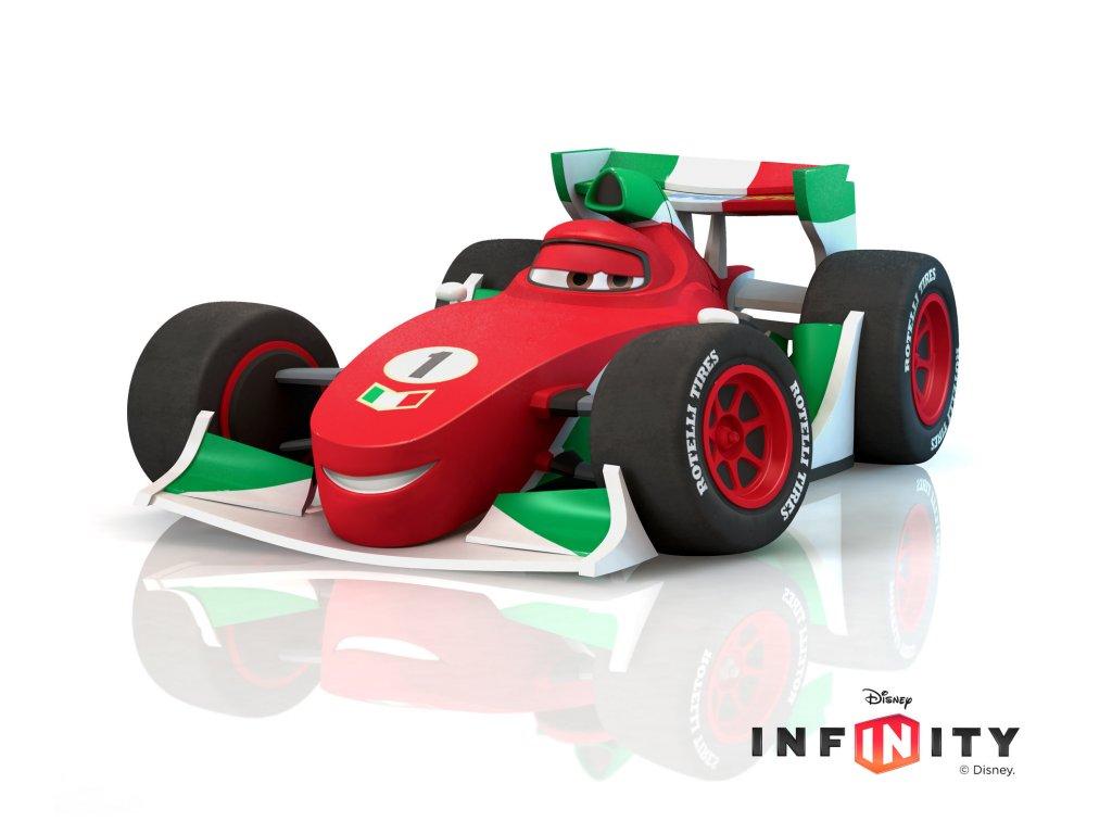 Disney Infinity Figurka - Auta (Cars): Francesco Bernoulli