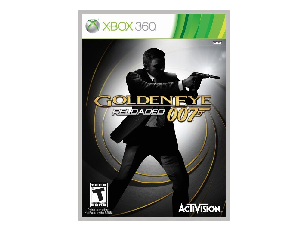 Xbox 360 James Bond 007 Golden Eye Reloaded