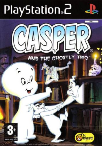 PS2 Casper and the Ghostly Trio