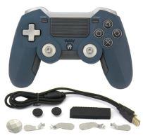 [PS4] Bezdrátový Ovladač Sades Elite - modrý (nový)