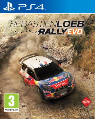 PS4 Sebastien Loeb Rally Evo