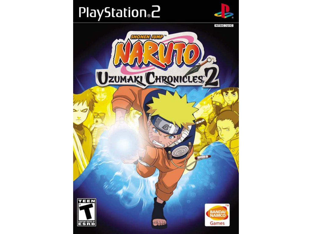 PS2 Naruto Uzumaki Chronicles 2 (nová)