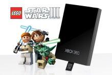[Xbox 360] HDD 320 GB + hra Lego Star Wars 3 The Clone Wars (nový)