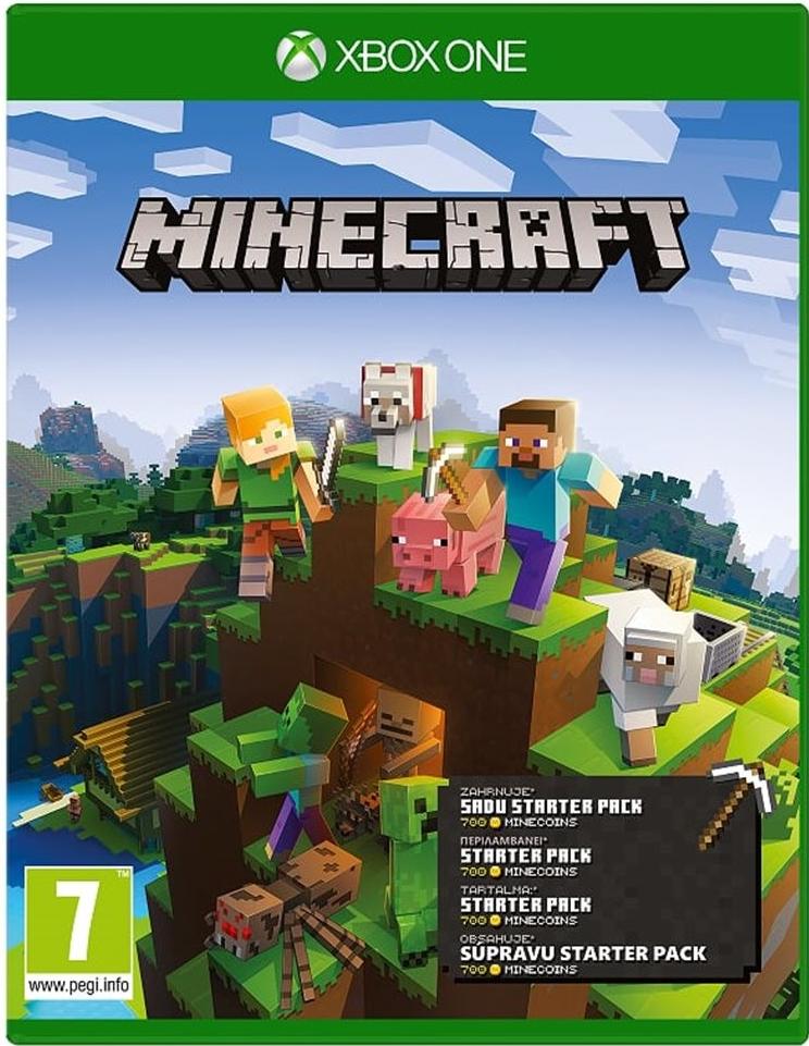 Xbox One Minecraft - Starter Collection (nová)