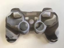 [PS3] Protiskluzový Návlek na Ovladač (šedo bílý)