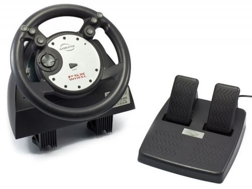 [PS1 | PSX] GAMESTER PSX Wheel