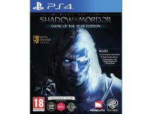 PS4 Middle Earth Shadow Of Mordor GOTY, Edice Hra roku (nová)