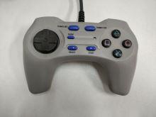 [PS2] Drátový Ovladač Speedlink FighterPad - šedý (estetická vada)