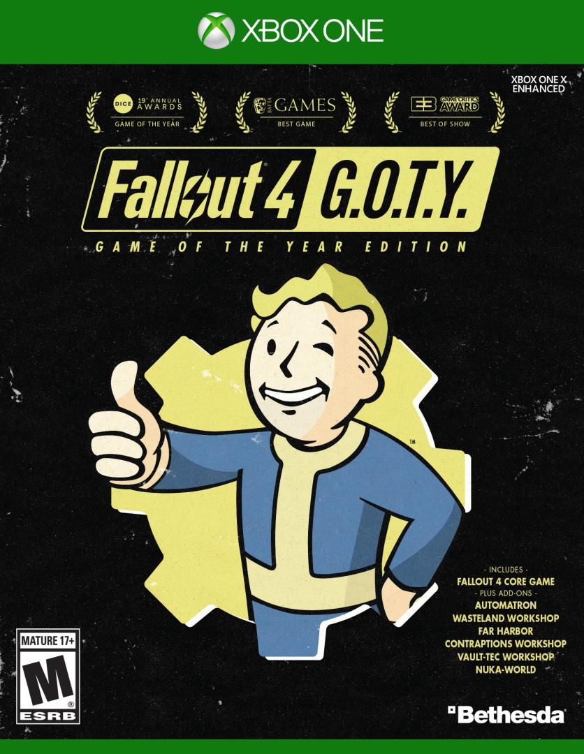 Xbox One Fallout 4: GOTY (Edice Hra roku)