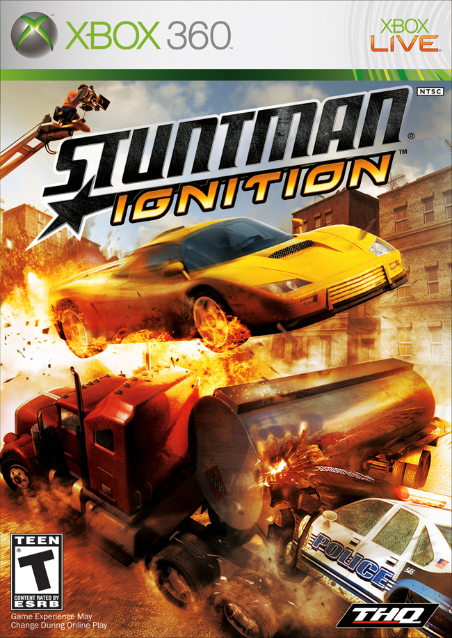 Xbox 360 Stuntman Ignition