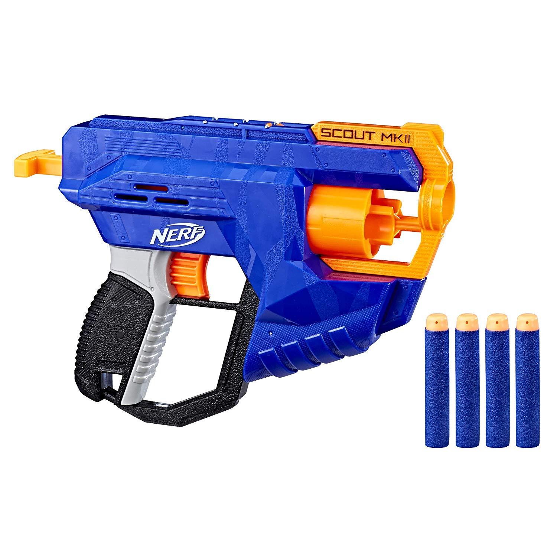 NERF - Elite Scout MK2 - Hrací Pistole (nová)