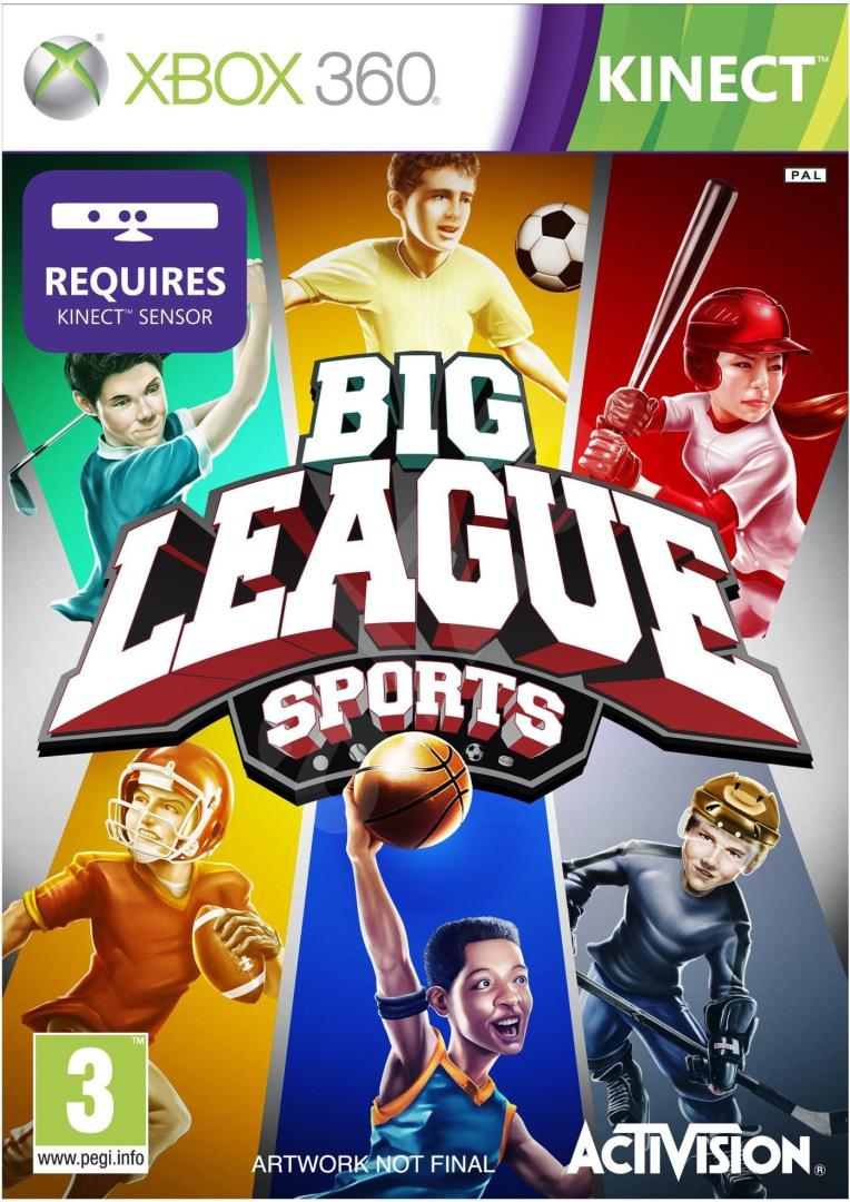 Xbox 360 Big League Sports