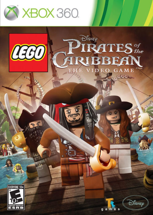Xbox 360 Lego Piráti Z Karibiku, Pirates Of The Caribbean