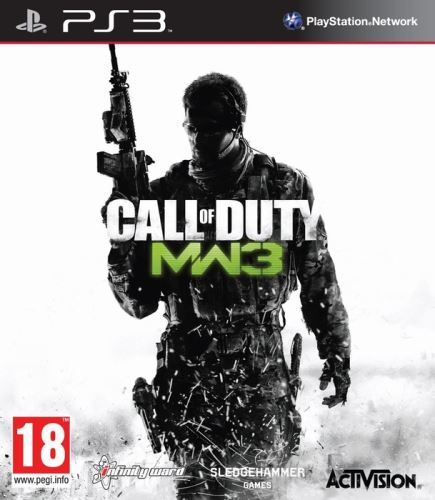PS3 Call Of Duty Modern Warfare 3 (FR) (nová)