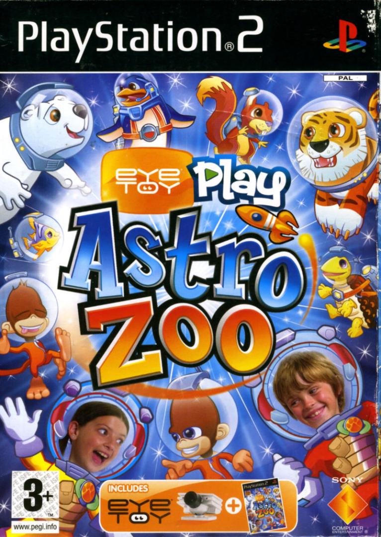 PS2 EyeToy Play - Astro Zoo (CZ)