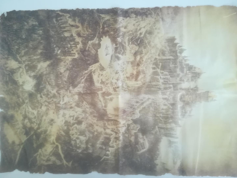 Látková Mapa + Výšivky Dark Souls 3