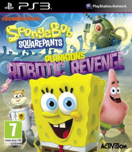 PS3 Spongebob Squarepants Planktons Robotic Revenge