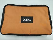 Pouzdro na AEG bezpříklepovou vrtačku BE 750 RE, černo-oranžové