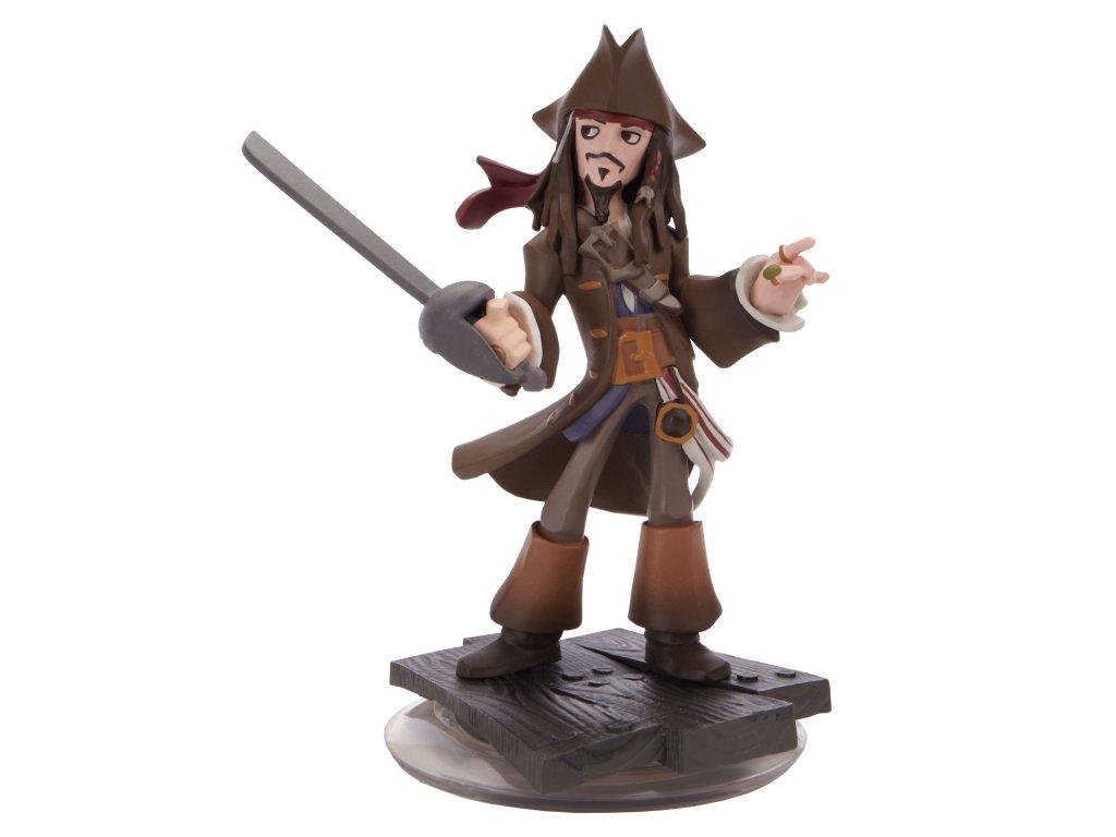Disney Infinity Figurka - Piráti z Karibiku (Pirates of the Caribbean): Kapitán Jack Sparrow (estetická vada)