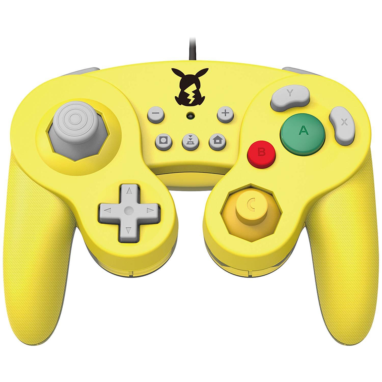 [Nintendo Switch] Drátový Ovladač Hori Super Smash Bros - Pikachu (nový)