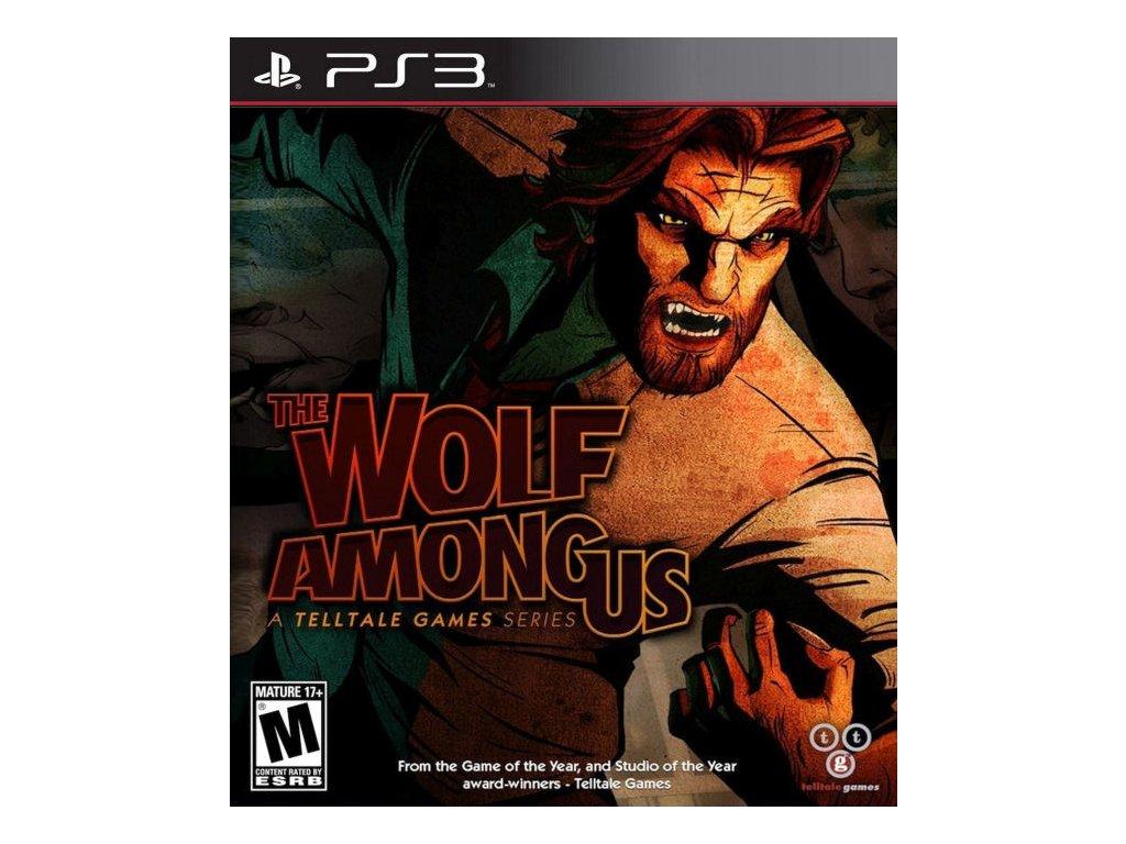 PS3 Wolf Among Us (nová)