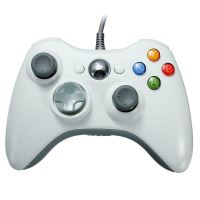 [Xbox 360] Drátový Ovladač - bílý (nový)
