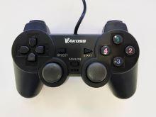 [PS3] Drátový Ovladač VAKOSS - černý (estetická vada)