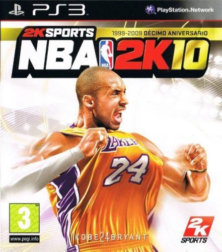 PS3 NBA 2K10 2010