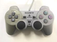 [PS1] Drátový Ovladač Sony Dualshock - šedý (nažloutlý)(různé estetické vady)