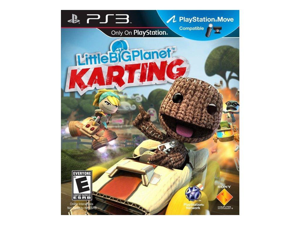 PS3 Little Big Planet Karting