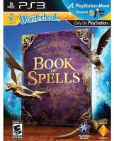 PS3 Move Wonderbook - Hra Book of Spells (CZ) + Kniha