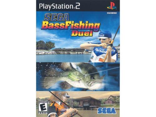PS2 Sega Bass Fishing Duel