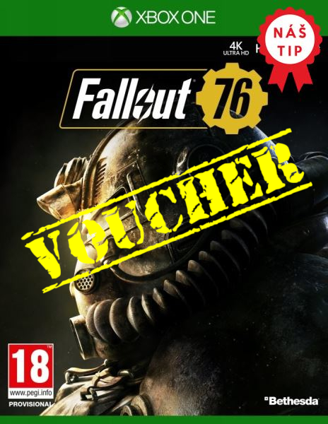 Voucher Xbox One Fallout 76