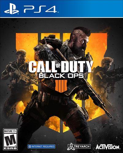 PS4 Call Of Duty Black Ops 4 (bez obalu)