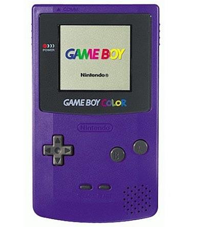 Nintendo GameBoy Color (fialový) (estetická vada)