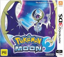 Nintendo 3DS Pokémon Moon (nová)